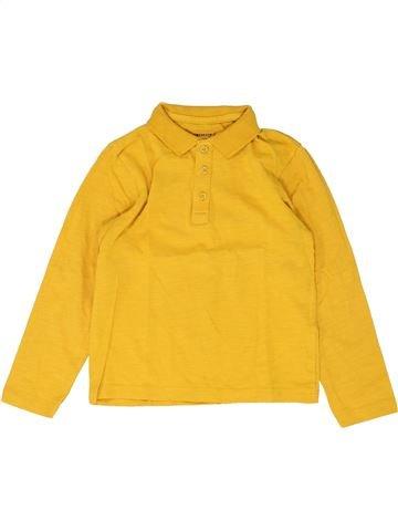 Polo de manga larga niño ORCHESTRA amarillo 5 años invierno #1448799_1