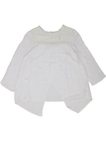 Blusa de manga larga niña H&M blanco 12 años invierno #1448857_1