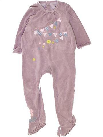 Pijama de 1 pieza niña VERTBAUDET beige 2 años invierno #1448863_1