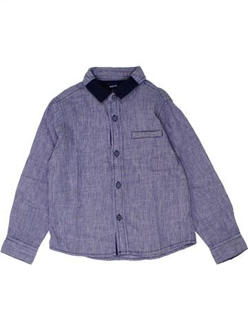 Chemise manches longues garçon KIABI gris 5 ans hiver #1448890_1