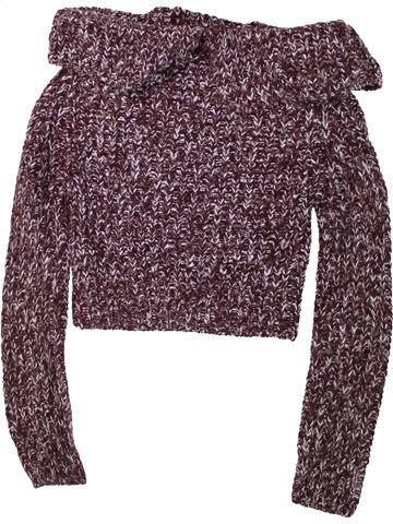Pull fille KYLIE violet 13 ans hiver #1448891_1