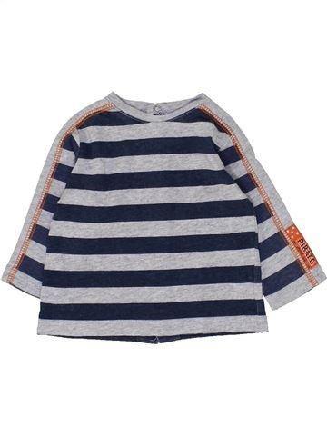 Camiseta de manga larga niño 3 POMMES gris 3 meses invierno #1449060_1