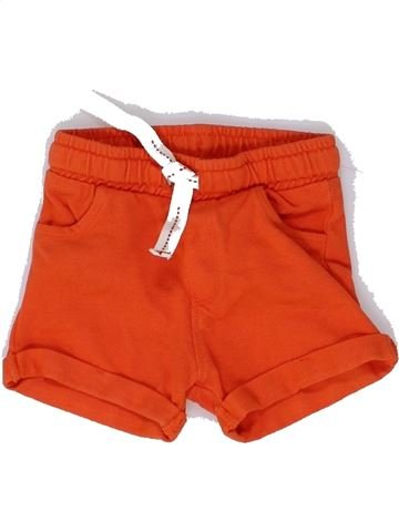 Short-Bermudas niño OKAIDI naranja 6 meses verano #1449094_1