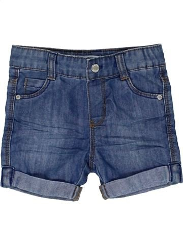Short - Bermuda garçon OKAIDI bleu 6 mois été #1449114_1