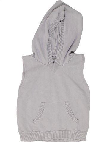jersey niño VERTBAUDET gris 9 meses invierno #1449129_1