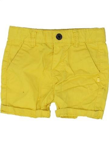 Short-Bermudas niño OKAIDI amarillo 6 meses verano #1449132_1