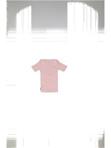 T-shirt manches courtes fille PETIT BATEAU blanc 6 mois été #1449213_1