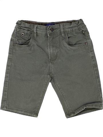 Short-Bermudas niño OKAIDI gris 5 años verano #1449230_1