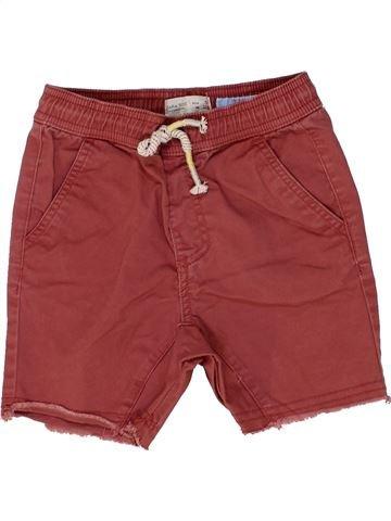 Short - Bermuda garçon ZARA marron 5 ans été #1449237_1