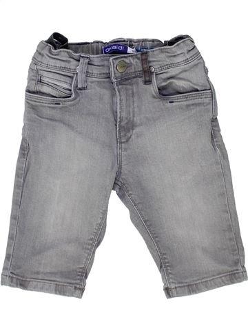 Short-Bermudas niño OKAIDI gris 6 años verano #1449239_1