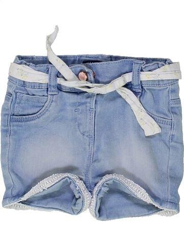 Short-Bermudas niña KIABI azul 18 meses verano #1449245_1