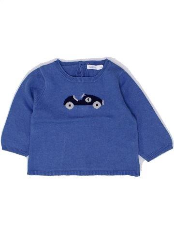 jersey niño BOUT'CHOU azul 6 meses invierno #1449278_1