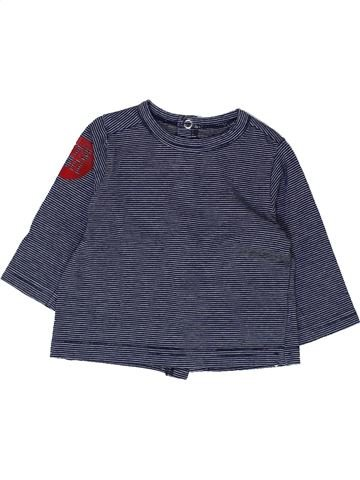 Camiseta de manga larga niño SUCRE D'ORGE azul 6 meses invierno #1449279_1