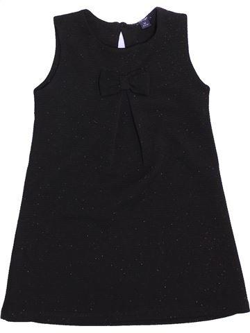 Vestido niña KIABI negro 3 años invierno #1449531_1