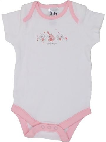Camiseta de manga corta niña BABY gris 9 meses verano #1449820_1