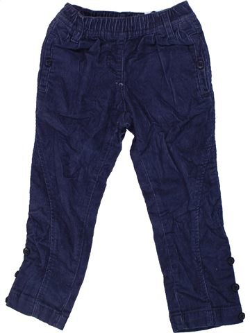 Pantalon garçon CYRILLUS bleu 4 ans hiver #1450411_1