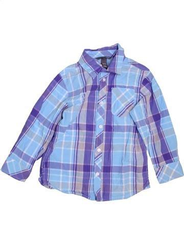 Chemise manches longues garçon H&M violet 7 ans hiver #1450611_1