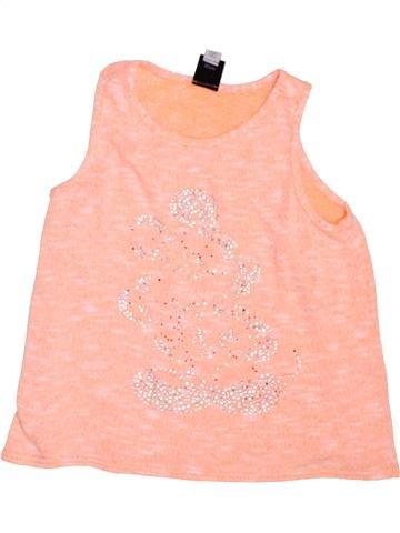 Camiseta sin mangas niña RIVER ISLAND rosa 8 años verano #1450622_1
