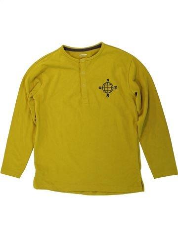 T-shirt manches longues garçon VERTBAUDET marron 10 ans hiver #1450941_1
