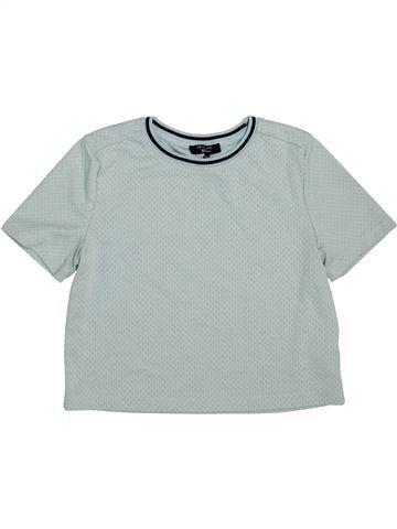 T-shirt manches courtes fille NEW LOOK gris 13 ans été #1451024_1