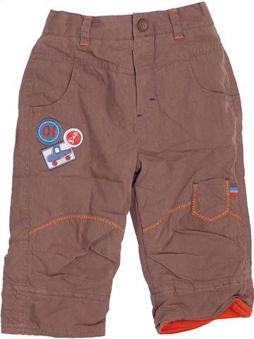 Pantalon garçon ZIP ZAP violet 6 mois hiver #1451084_1