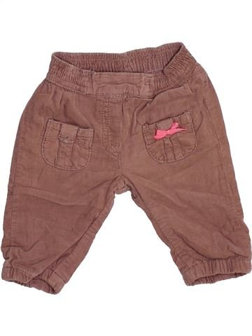 Pantalon fille KANZ marron 1 mois hiver #1451160_1