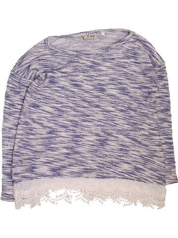 Pull fille NEXT gris 9 ans hiver #1451207_1