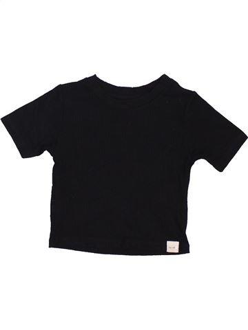 T-shirt manches courtes fille RIVER ISLAND noir 2 ans été #1451281_1