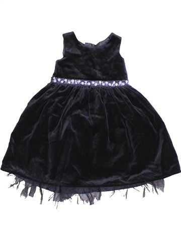 Robe fille DUNNES STORES noir 2 ans hiver #1451857_1