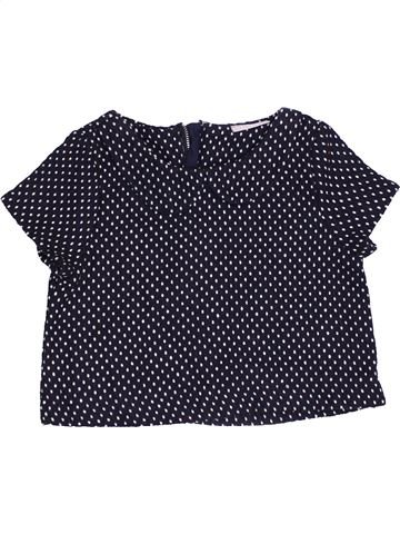 T-shirt manches courtes fille I LOVE GIRLSWEAR bleu foncé 6 ans hiver #1451927_1
