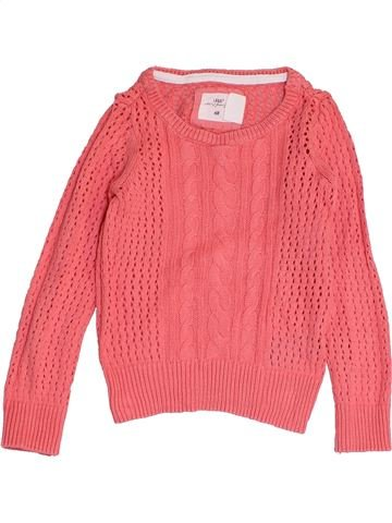 Pull fille H&M rose 4 ans hiver #1452253_1
