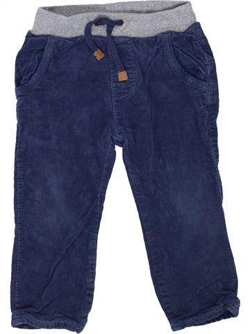 Pantalon garçon ZARA bleu 2 ans hiver #1452805_1
