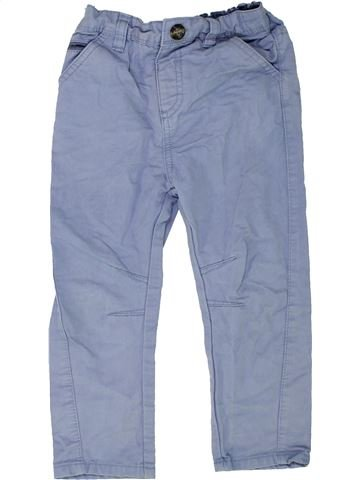 Pantalon garçon DUNNES STORES bleu 2 ans hiver #1453204_1
