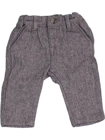 Pantalon garçon MAMAS & PAPAS gris 6 mois hiver #1453337_1