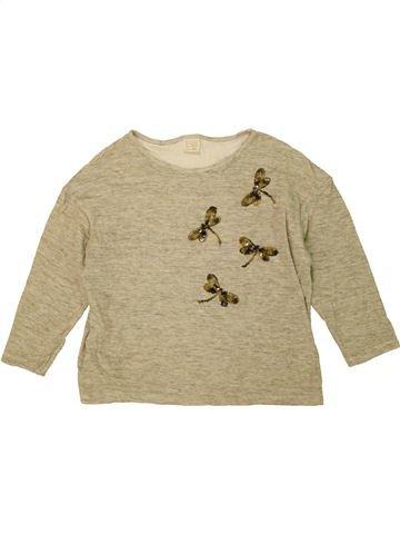 Camiseta de manga larga niña ZARA beige 14 años invierno #1453437_1