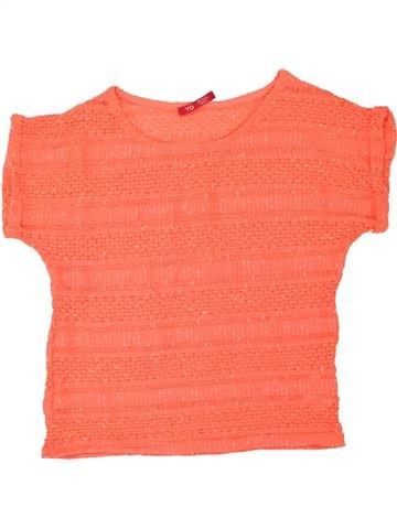 T-shirt manches courtes fille PRIMARK rose 13 ans hiver #1453440_1