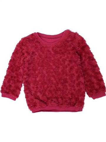 Pull fille MATALAN rouge 4 ans hiver #1453470_1
