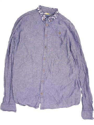 Chemise manches longues garçon DEMO violet 16 ans hiver #1453559_1