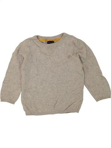 Pull garçon NEXT gris 2 ans hiver #1453632_1
