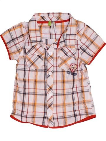 Camisa de manga corta niño ORCHESTRA rosa 6 meses verano #1453643_1