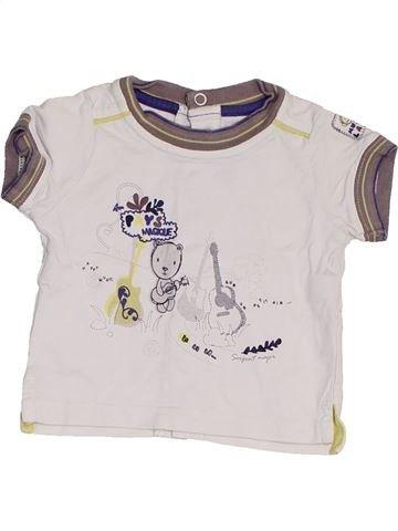 Camiseta de manga corta niño SERGENT MAJOR blanco 1 mes verano #1453665_1