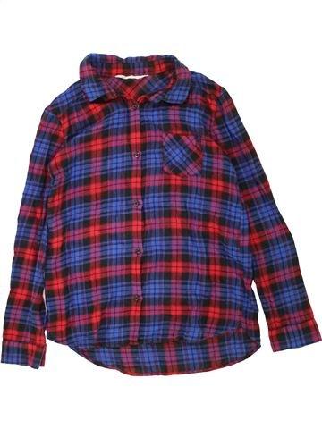 Chemise manches longues garçon H&M violet 12 ans hiver #1453685_1