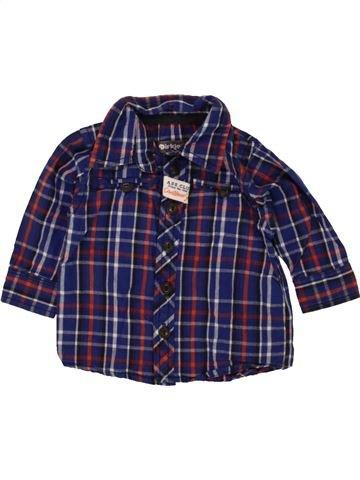 Chemise manches longues garçon DIRKJE bleu 3 mois hiver #1453732_1