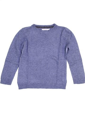 Pull garçon MONOPRIX violet 6 ans hiver #1453810_1