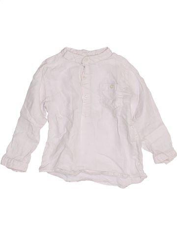 Camisa de manga larga niño BOUT'CHOU blanco 18 meses verano #1453836_1