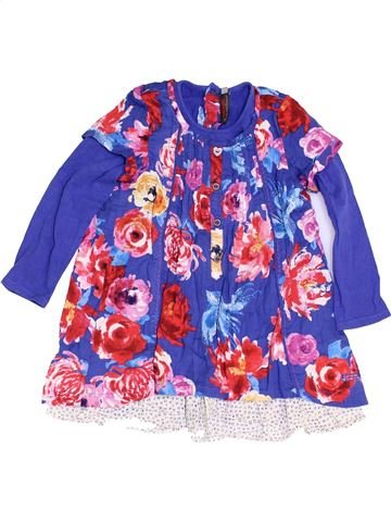 Robe fille CATIMINI violet 3 ans hiver #1453856_1
