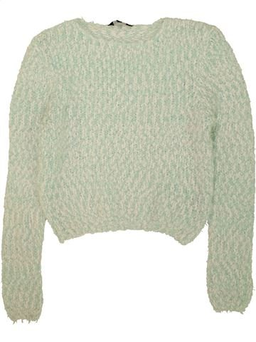 Pull fille NEW LOOK gris 15 ans hiver #1453941_1