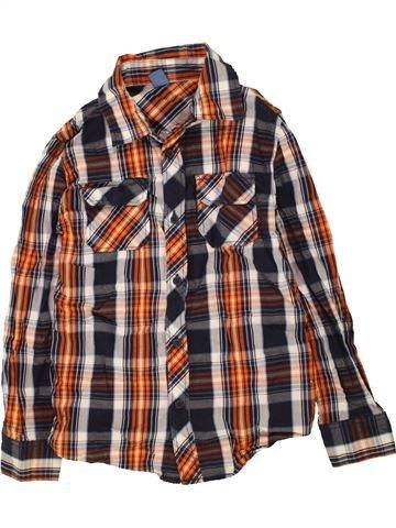 Chemise manches longues garçon DOPODOPO marron 8 ans hiver #1454181_1