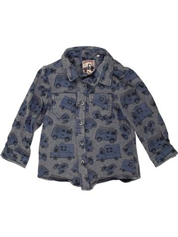 Chemise manches longues garçon TU bleu 3 ans hiver #1454245_1
