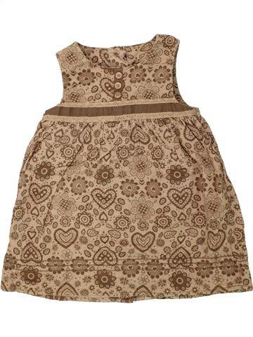 Robe fille MOTHERCARE marron 18 mois hiver #1454517_1
